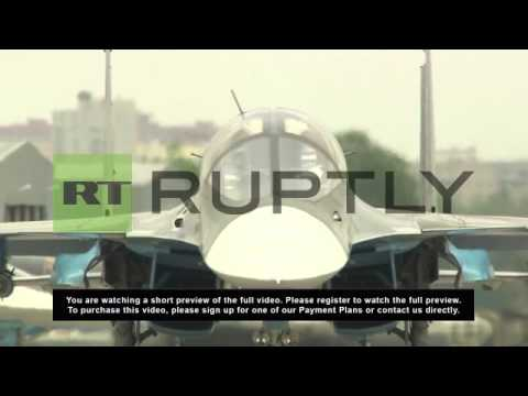 1. W/S Fighter-bomber SU-34 (NATO...