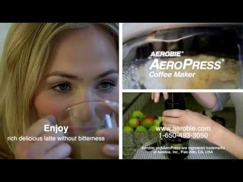AEROBIE Aeropress Coffee and Espresso Maker [Made in USA]