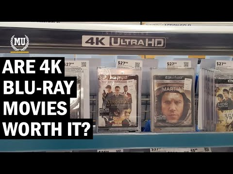 Are 4k Blu-Ray movies worth it? | 4K HDR Blu Ray - Is it worth it? | Is 4K worth it in 2021?