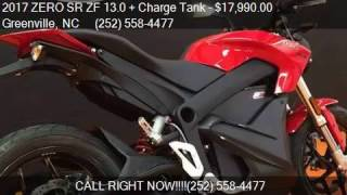 5. 2017 ZERO SR ZF 13.0 + Charge Tank  for sale in Greenville,