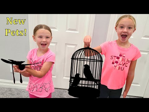 Trinity and Madison Get New Pets!!!