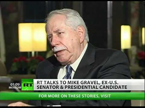 "Mike Gravel: ""Netanyahu is a liar"""