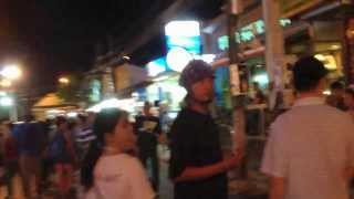 Night Life At Patong Beach Phuket Thailand