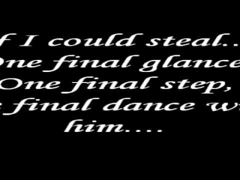 Dance with my father again- Celine Dion Lyrics