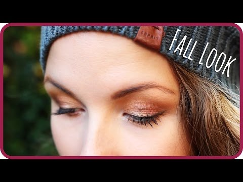 Get ready for Fall l Make-up & Outfit