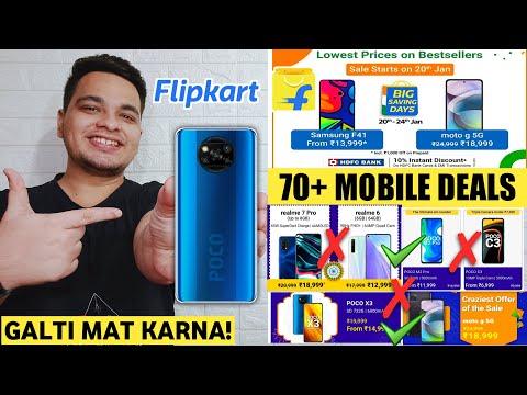 Flipkart Big Saving Days Sale - 70+ Best Smartphone Deals & Offers | Flipkart Mobile Sale 2021 🔥🔥