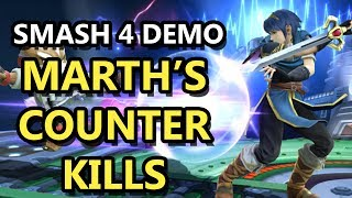 Marth's Counter KILLS at 55%! Does 35% Damage