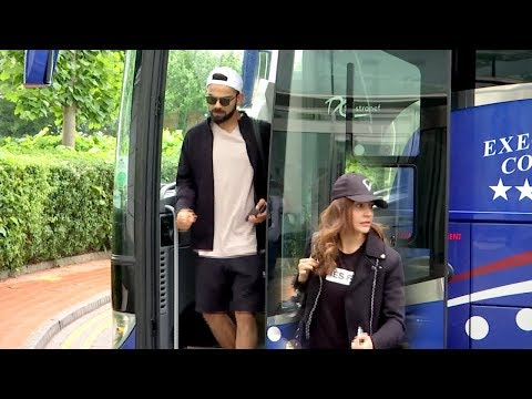 Video Watch: Anushka Sharma travels with hubby Virat Kohli to Cardiff from Manchester   India   England download in MP3, 3GP, MP4, WEBM, AVI, FLV January 2017