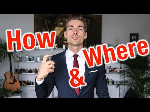 How & Where to Apply Fragrance