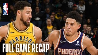 SUNS vs WARRIORS | Devin Booker Drops 17 In The 4th Quarter | March 10, 2019