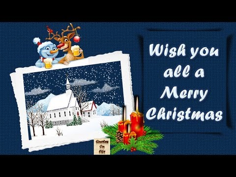 Family quotes - Merry christmas Wishes massage animated ecard greetings whatsapp video with quotes on life,