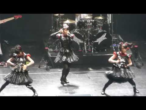 Babymetal At The Wiltern In Los Angeles, Ca