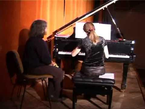 Recital de pian la Busteni