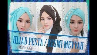 Video 3 Tutorial Hijab Pesta Formal kondangan Mewah WOW BINGITS !!! MP3, 3GP, MP4, WEBM, AVI, FLV September 2018