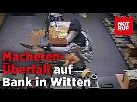 Witten: Polizei fahndet nach Bankräuber mit Monster-Mac ...