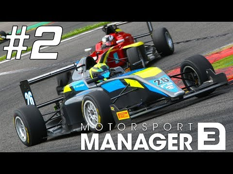 Motorsport Manager Mobile 3 Career Mode - Part 2 RAIN CAUSES CHAOS