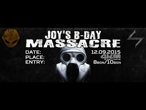 JOY'S B-DAY MASSACRE 12.09.2015 SHANO DJ @ Party Center 4KM Sofia BG Part8