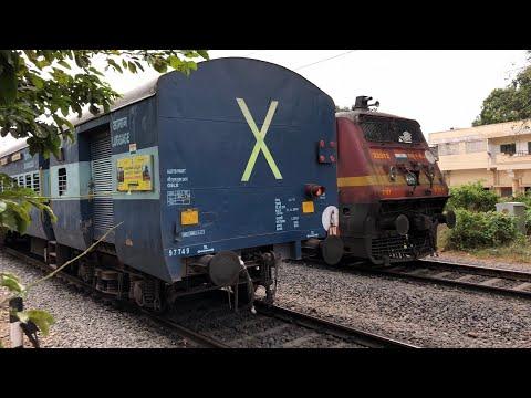 6 HRS LATE RUNNING || CHOTU AMARAVATI EXPRESS 17226 || RAL-SC PASSENGER 57652 || INDIAN RAILWAYS ||
