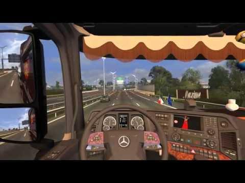 [FR] Euro Truck Simulator 2 - Normandie Trans' - Trajet Parthenay-Pau