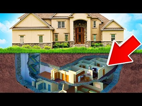 BUYING A NEW HOUSE W/ SECRET BUNKER!! (House Flipper)