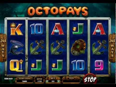 Octopays Online SLOT Pokies Game - Free Spin Bonus.