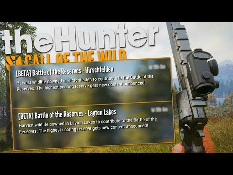The Hunter Call Of The Wild | BATTLE OF THE RESERVES!!