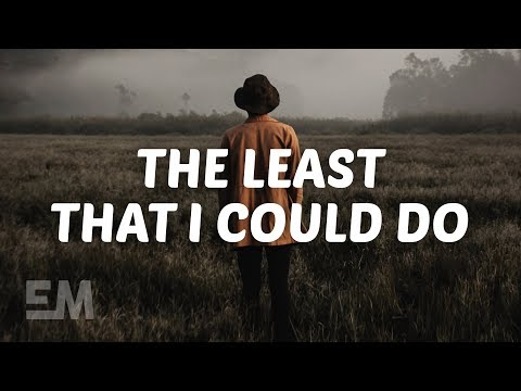 Plested - The Least That I Could Do (Lyrics)