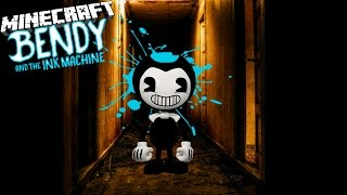 BENDY KIDNAPPS THE BOSS BABY IN HIS FACTORY - Minecraft Bendy