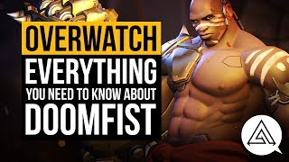 Here's a run down of everything you need to know about Overwatch's 25th hero Doomfist. Story, Gameplay, the lot!If you enjoyed the video, don't forget to leave a LIKE and COMMENT down below. SUBSCRIBE for daily gaming videos!► Subscribe to my second channel: https://www.youtube.com/c/Arekkz► Follow me on Twitter: http://www.twitter.com/Arekkz►Join the Arekkz Gaming Discord: https://discord.gg/NvSVGYK► Follow me on Twitch:http://www.twitch.tv/ArekkzGaming► Follow TwoSixNine on Twitchhttps://www.twitch.tv/twosixnine► Like Arekkz Gaming on Facebook: http://www.facebook.com/ArekkzGaming► Follow me on Instagram:https://instagram.com/arekkz/Check out the HyperX Headset I use:https://www.amazon.co.uk/gp/product/B01CZX6U3U/ref=as_li_tl?ie=UTF8&camp=1634&creative=6738&creativeASIN=B01CZX6U3U&linkCode=as2&tag=arekgami-21