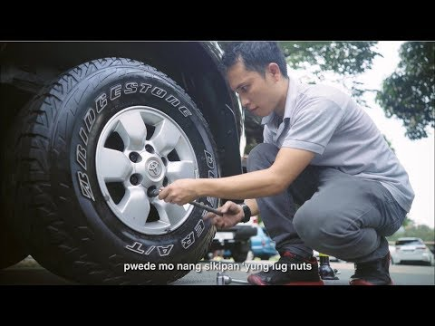 How To Change A Tire - OLX Philippines
