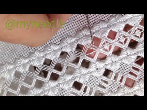 embroidery - hardanger stitch