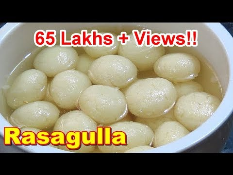 Tasty & Spongy RasaGulla Recipe In Tamil | ரசகுல்லா