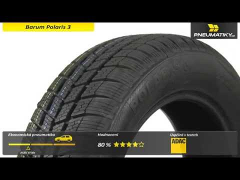 Youtube Barum Polaris 3 185/60 R15 84 T Zimní