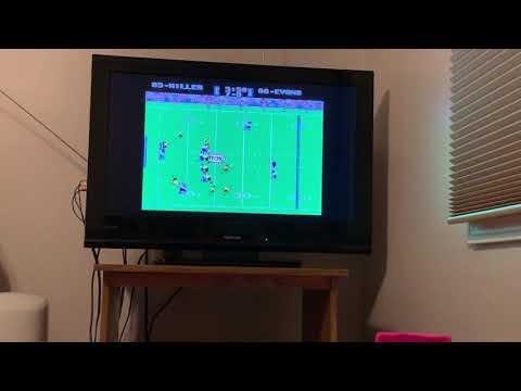 Tecmo Super Bowl - Week 1 - Steelers @ Chargers