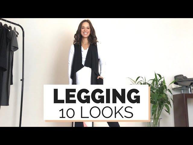 10 LOOKS : COMO USAR LEGGING | ESSENCIAIS MARI FLOR - Closet da Mari