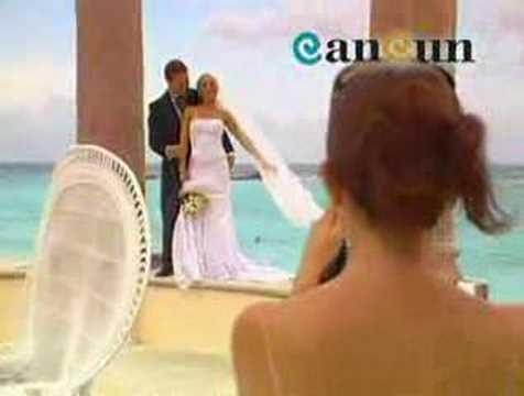 Huwelijk in Cancun