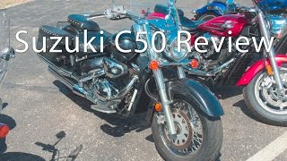 6. Suzuki Boulevard C50 Touring Motorcycle Review