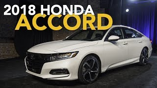 The 2018 Honda Accord sedan was just revealed to the world and it has been completely overhauled. This perennially popular midsize offering gains turbocharged engines, a more rigid structure, an advanced 10-speed automatic gearbox, and even a physical volume knob for the audio system. Talk about progress!Subscribehttp://www.youtube.com/subscription_center?add_user=AutoGuideVideoYouTube - http://www.youtube.com/user/AutoguideVideoFacebook - http://facebook.com/AutoGuideTwitter - http://twitter.com/AutoGuideGoogle+ - http://goo.gl/LBxsPWeb - http://www.AutoGuide.comAutoGuide reviews the latest new cars with test drives, car comparisons and shootouts plus coverage of breaking auto industry news, auto shows, rumors and spy photos. Help shop for your new car with informative car buying tips and car recall news, and be entertained with feature stories, Top 10s and car review videos.