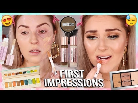 FIRST IMPRESSIONS 🗯️ much better this time & lots of DRUGSTORE!