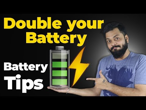 HOW TO DOUBLE YOUR PHONE BATTERY LIFE - Awesome Battery Saving Tips!