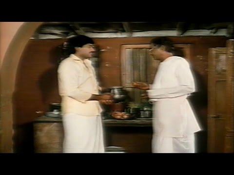 Rudraveena || PL Narayana at Chieanjeevis House Comedy Scene || Chiranjeevi, Shobana