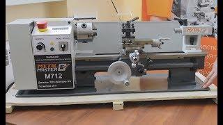 Настольный токарный станок Metal Master M712