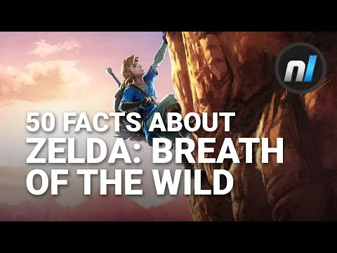50 Zelda: Breath of the Wild Facts You May Have Missed | E3 2016