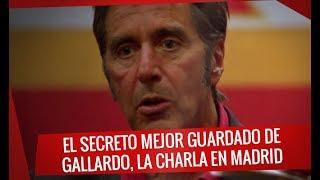 El secreto mejor guardado de Gallardo la charla técnica en Madrid