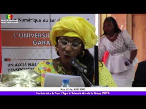 Réunion du comité de pilotage du PAUVS -  Discours de Mme Aïchitou NIANG WANE Coordonnatrice du PAUVS