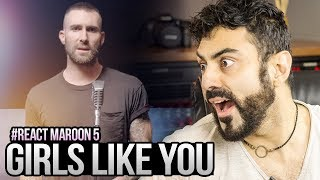 Video REAGINDO a Maroon 5 - Girls Like You ft. Cardi B MP3, 3GP, MP4, WEBM, AVI, FLV Juni 2018