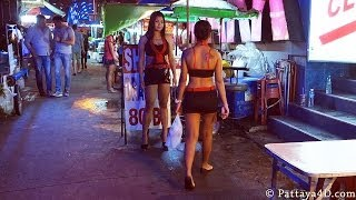 Pattaya Shark Soi Diamond&Soi 15 At Walking Street October 2013 Nightlife