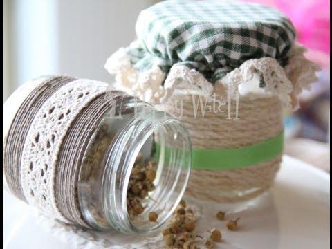 riciclo creativo: come riciclare i vasetti