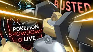MELMETAL IS BUSTED! Enter MELMETAL! Pokemon Sword and Shied! Pokemon Showdown live by PokeaimMD