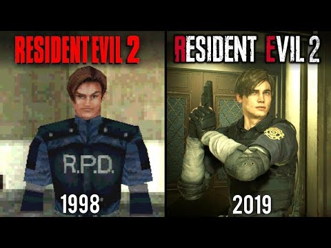 Resident Evil 2 Remake vs Original | Direct Comparison